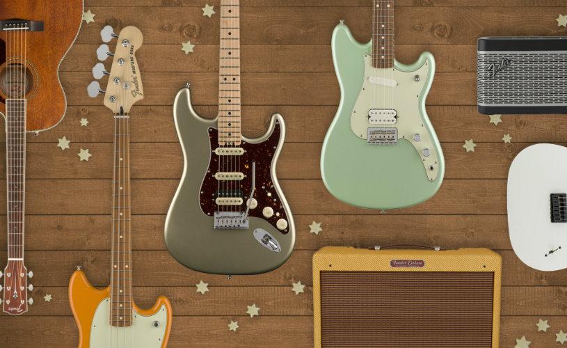 Fender Oferece o Vosso Instrumento de Sonho