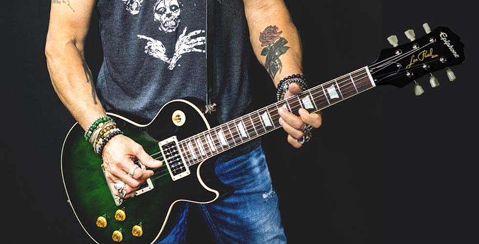 Novas Assinaturas de Slash na Epiphone