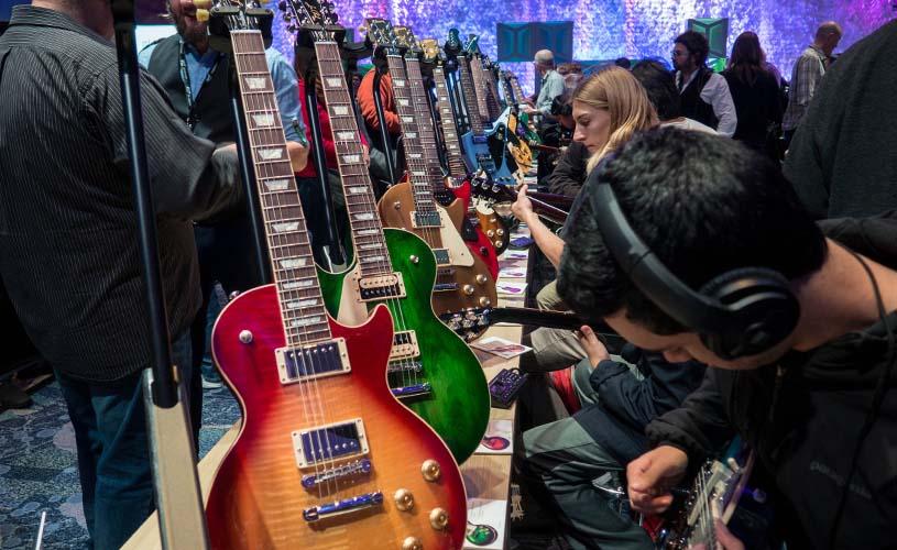 A Explosão da Guitarra Eléctrica no Mercado