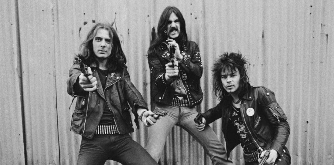 """A viagem de """"Fast"""" Eddie Clarke com os Motörhead"""