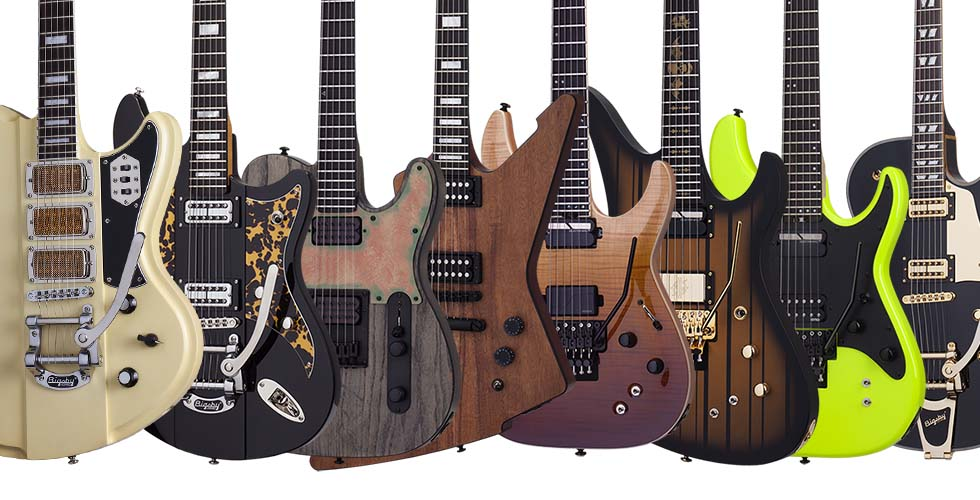 Schecter Guitars, Line-Up 2018
