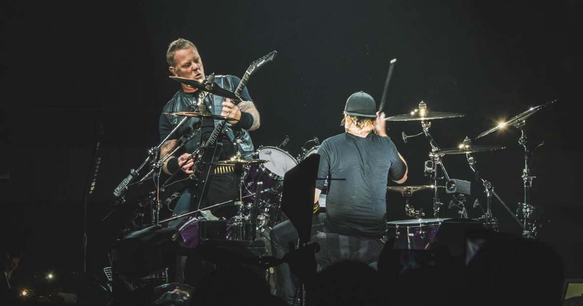 Metallica ao vivo no Estádio do Restelo em Maio de 2019