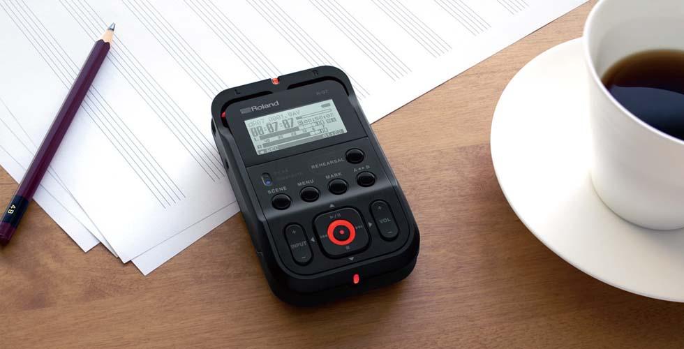 Gravador Áudio Roland R-07