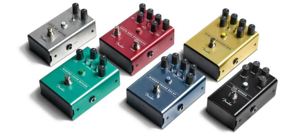 6 Novos Pedais Fender