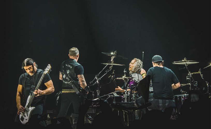 """Metallica tocam """"A minha Casinha"""", uma homenagem a Zé Pedro"""