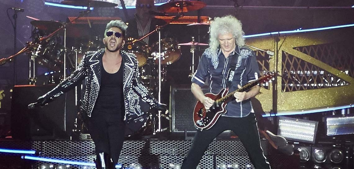 "Queen + Adam Lambert tocam ""Whole Lotta Love"" ao vivo"