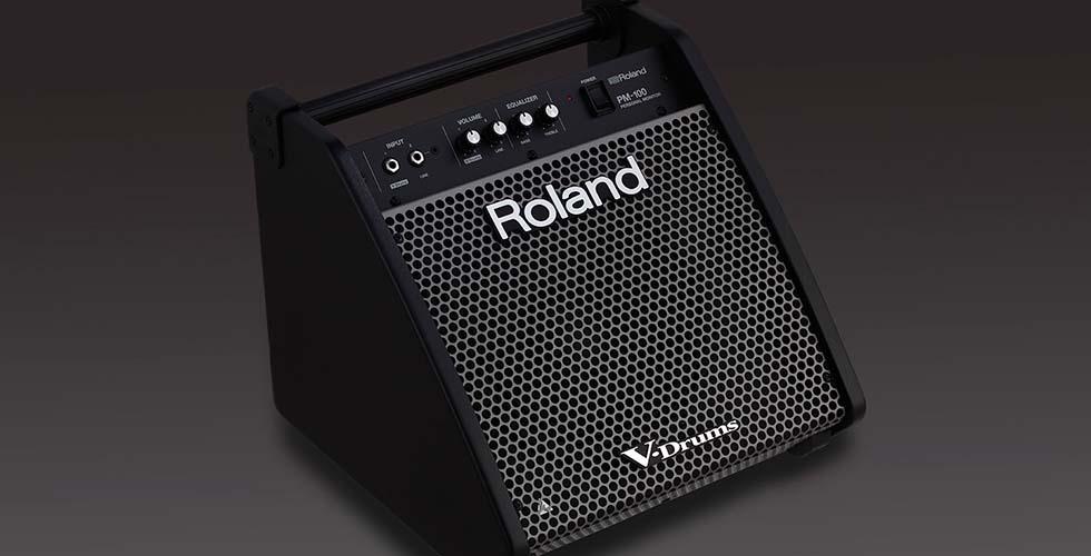 Monitores Amplificados Roland PM-100 e PM-200