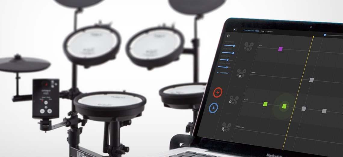 """Roland e Melodics colaboram em """"Melodics for V-Drums"""""""