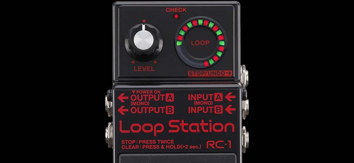 RC-1-BK Loop Station, edição limitada