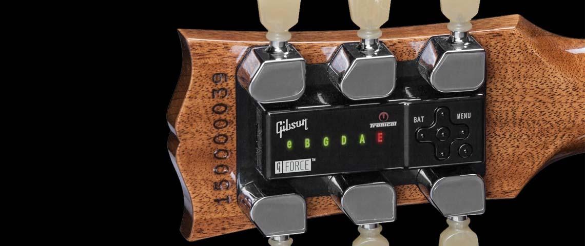 Gibson G-Force: como funciona a afinação automática