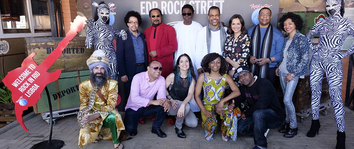 EDP ROCK STREET: Uma viagem sonora até África