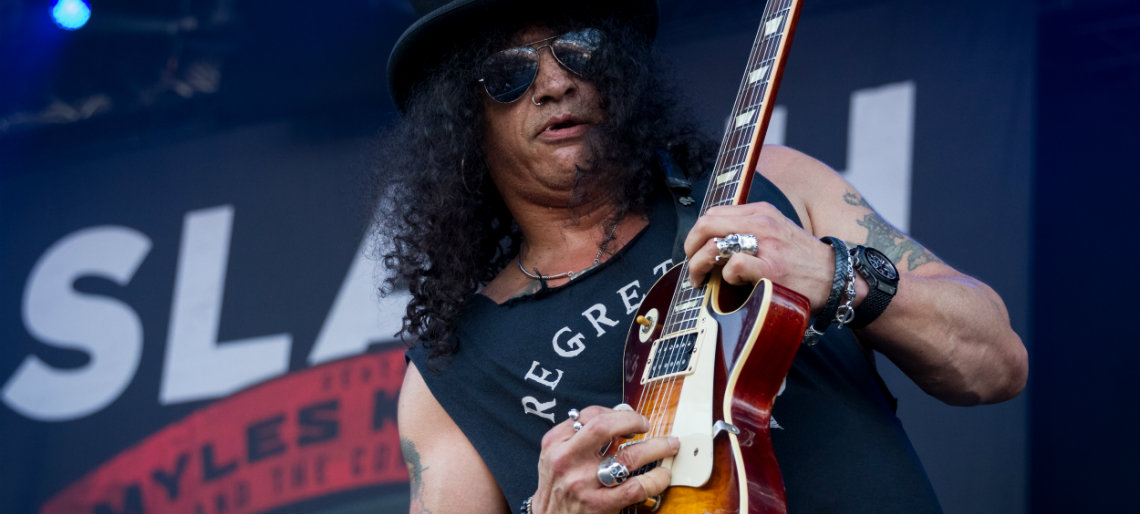 Slash No Flirt com a Stratocaster