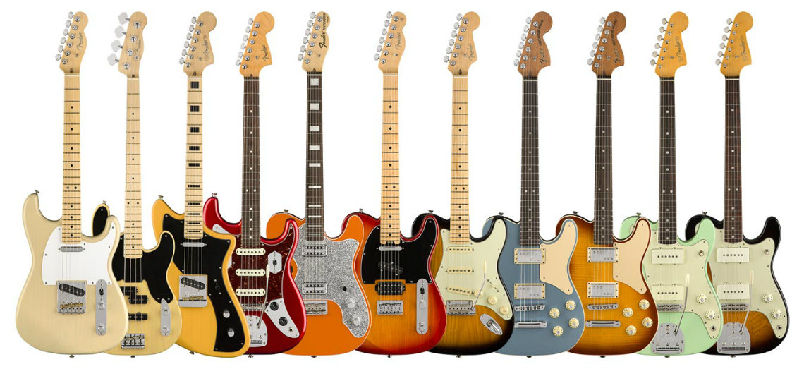 Fender Parallel Universe Series