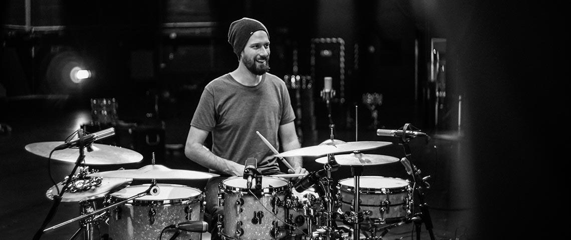 Benny Greb é cabeça de cartaz no Festival de Percussão e Bateria de Lavra