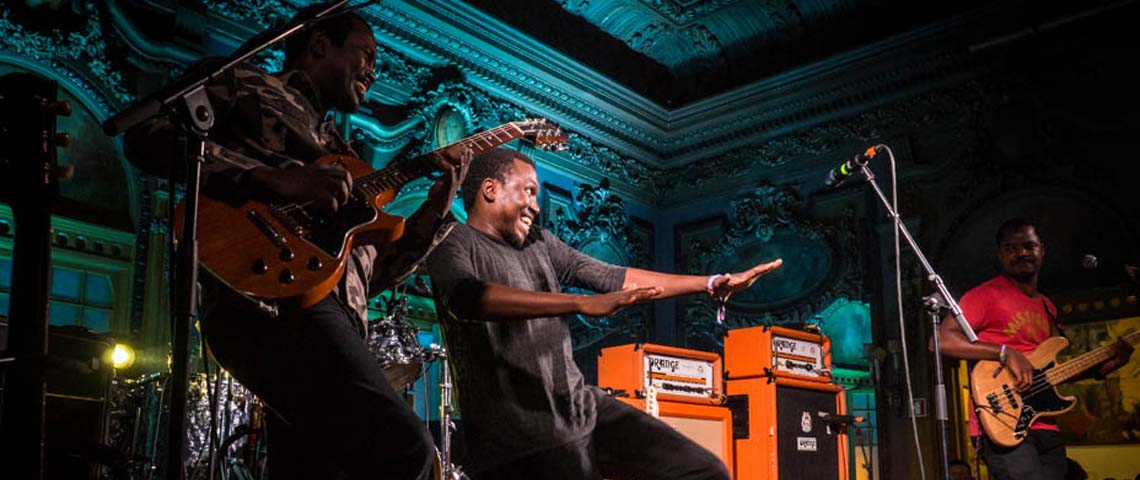 Songhoy Blues e DJ Big no Super Bock Super Rock '18