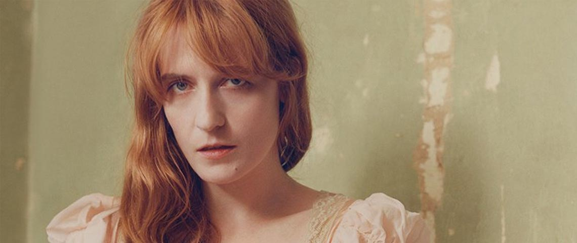 """Hunger"", o novo single de Florence and the Machine"