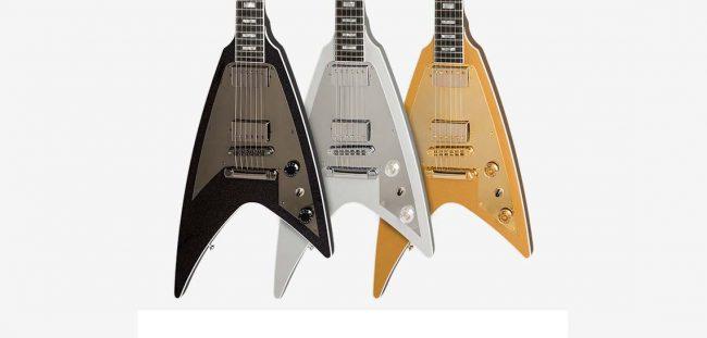 Corpo dos modelos Gibson Modern Flying V, edição limitada de 2017.