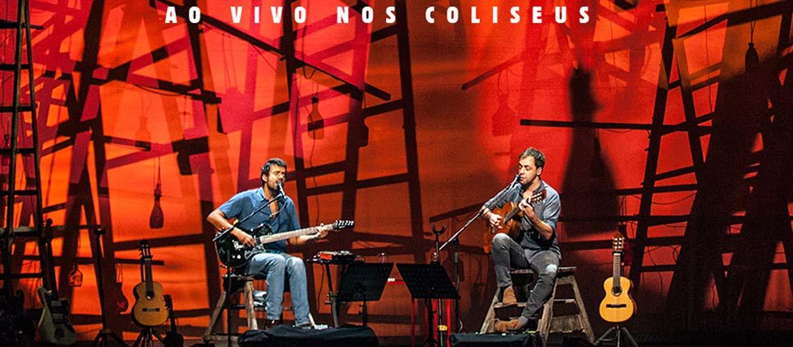 As 28 Noites ao vivo nos Coliseus de  Zambujo e Araújo em álbum