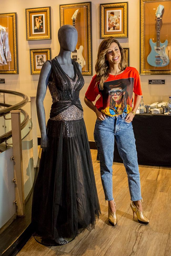 Vestido Katty Xiomara_Doação Memorabilia Hard Rock_AnaMoura_1ªfadista