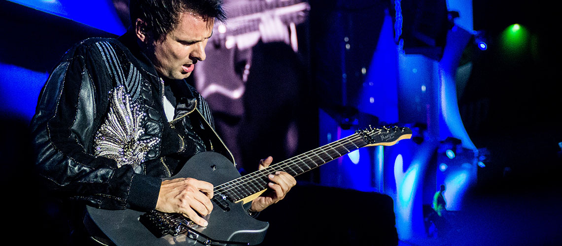 Matt Bellamy, O Novo Dono da Manson Guitar Works