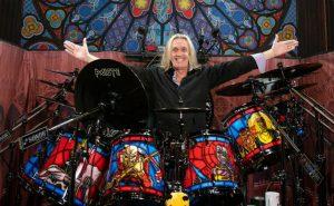 nicko mcbrain legacy of the beast drumkit header
