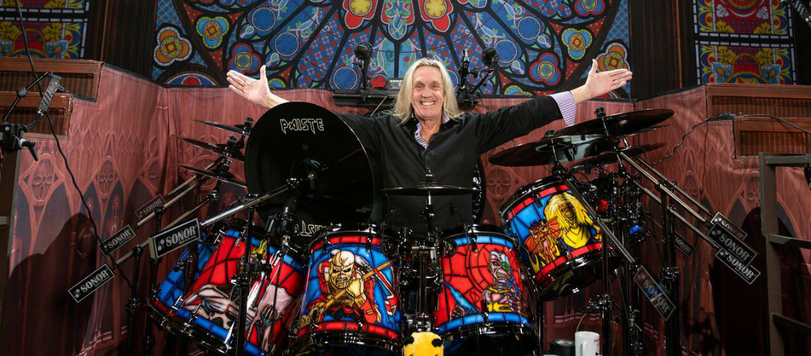 Nicko McBrain, Legacy of The Beast Sonor