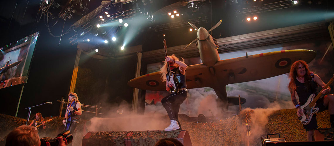 O Histórico Primeiro Concerto dos Iron Maiden na Colômbia Vai Tornar-se uma Aventura Cinematográfica