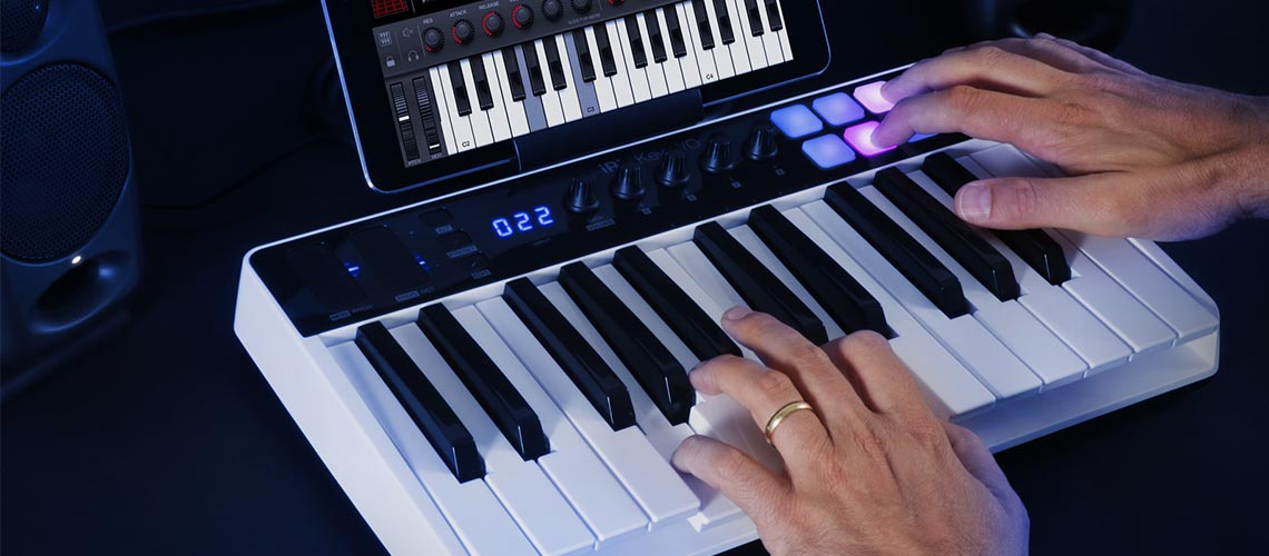 iRig Keys I/O 25, novo teclado controlador e interface de áudio da IK Multimedia