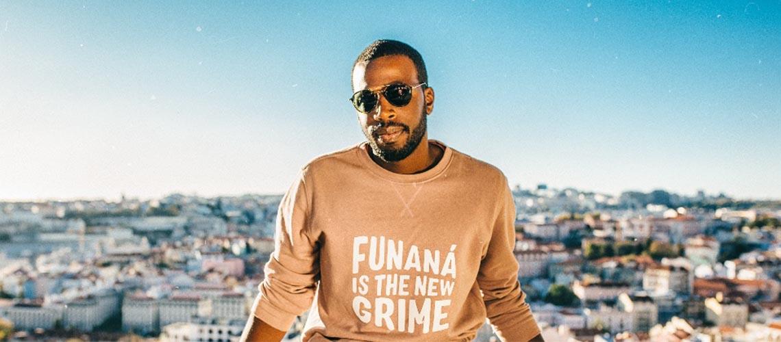 Festival dos Canais: Dino D'Santiago ao vivo em Aveiro