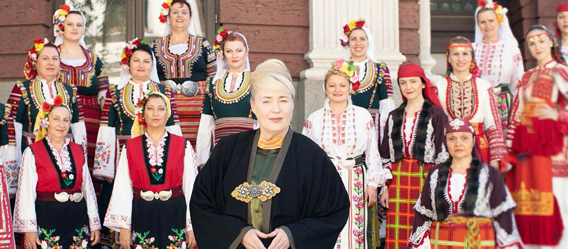 The Mystery Of The Bulgarian Voices com Lisa Gerrard em Portugal