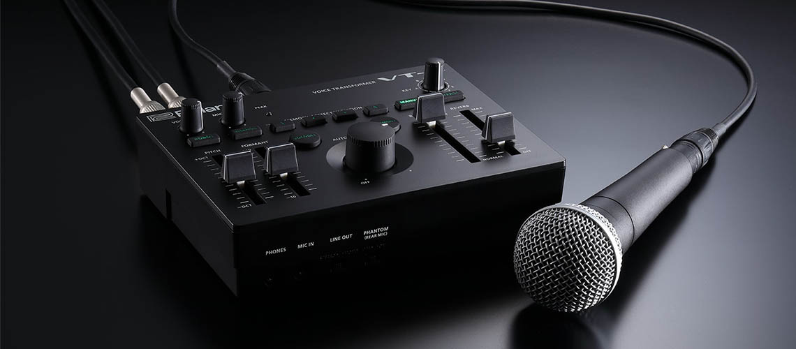 VT-4, Transformador de Voz da Roland