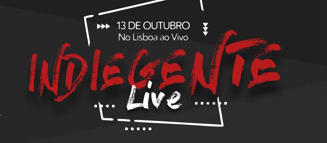 Indiegente Live: Cartaz Completo