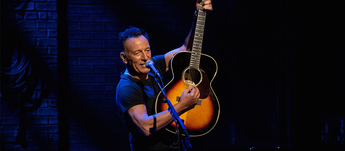 """Springsteen on Broadway"", o novo filme de Bruce Springsteen"