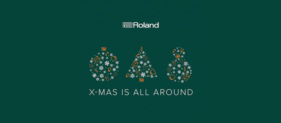 Neste Natal, Ganha 1000€ em Equipamento Roland
