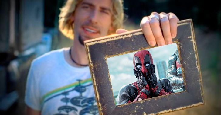 Deadpool ❤ Nickelback