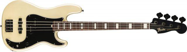 Duff McKagan Deluxe Precision Bass White Pearl