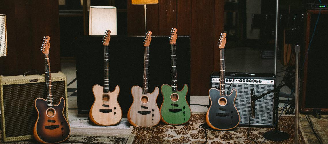 NAMM 2019: Fender American Acoustasonic Series Telecaster