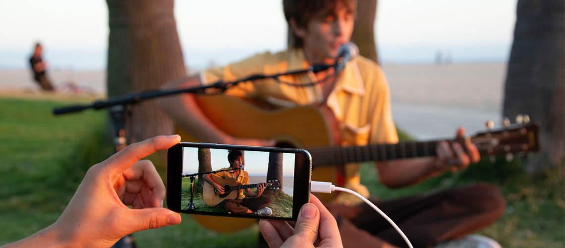 Apps gratuitas para edição de videoclips produzidas pela Roland