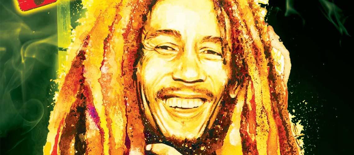 Celebra o 74º aniversário de Bob Marley no Estúdio Time Out em Lisboa