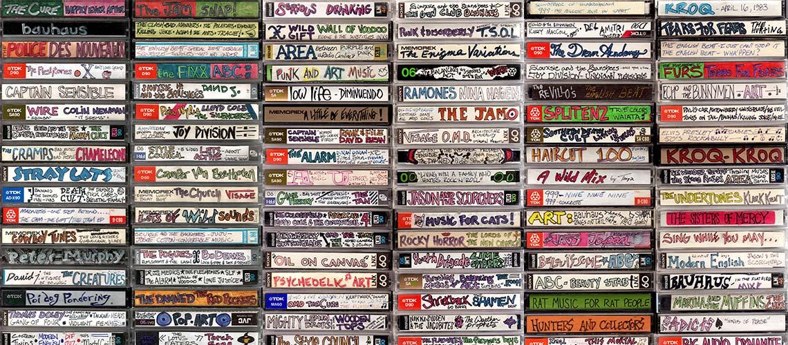 Máquina do Tempo: Os designers de cassetes dos anos 80 e 90