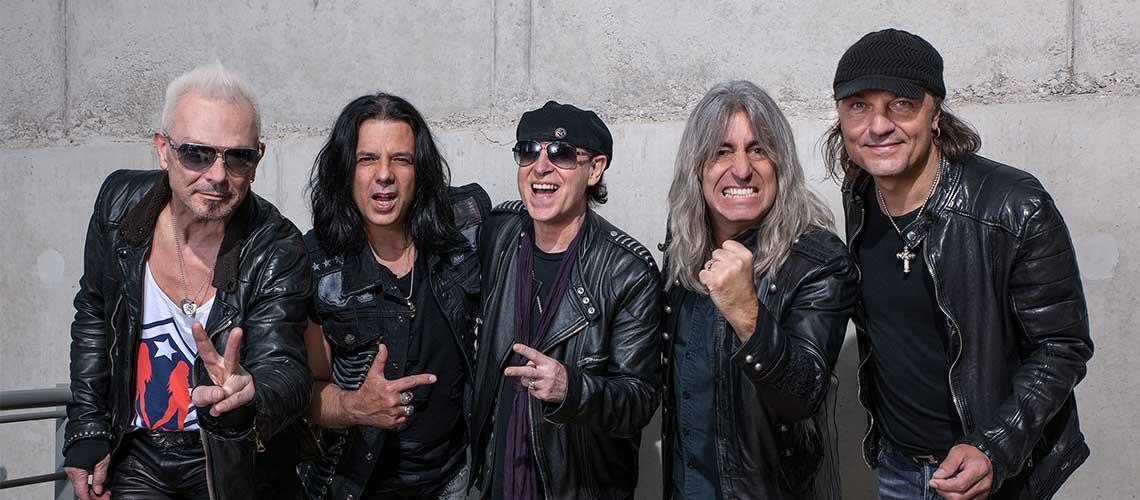 Scorpions na Altice Arena em Junho de 2019