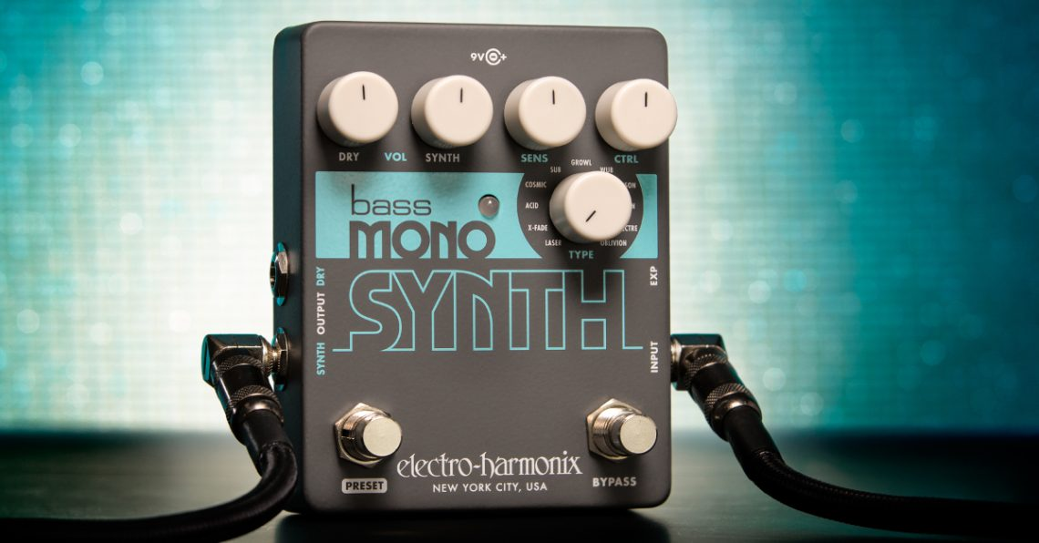 NAMM 2019: EHX Bass Mono Synth