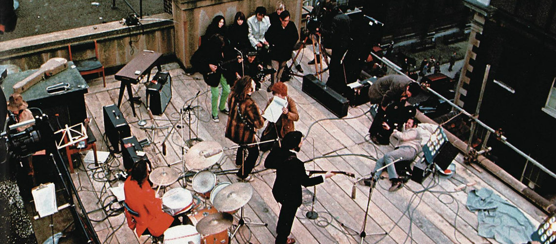 Beatles, Apple Rooftop