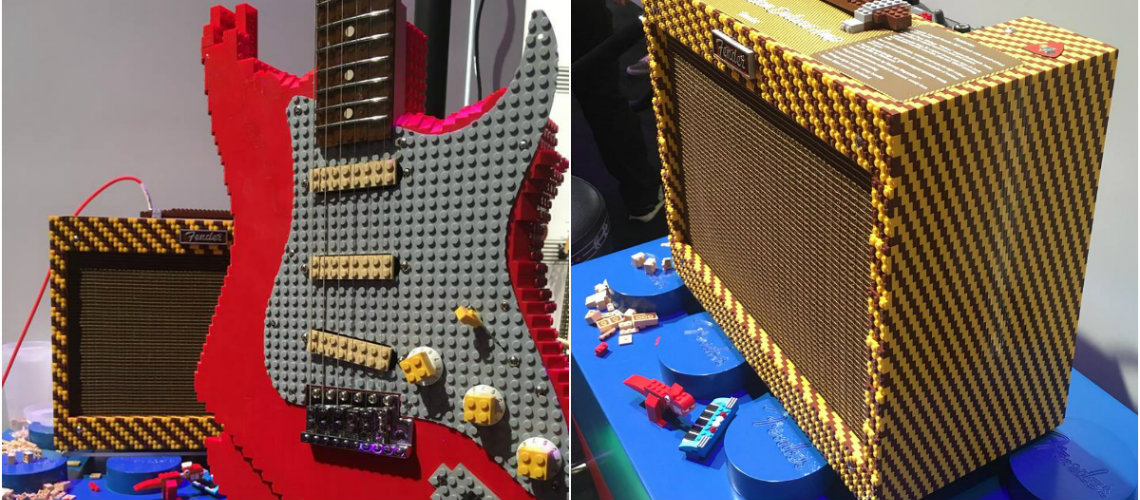 NAMM 2019: Fender Brickcaster & Building Block Deluxe