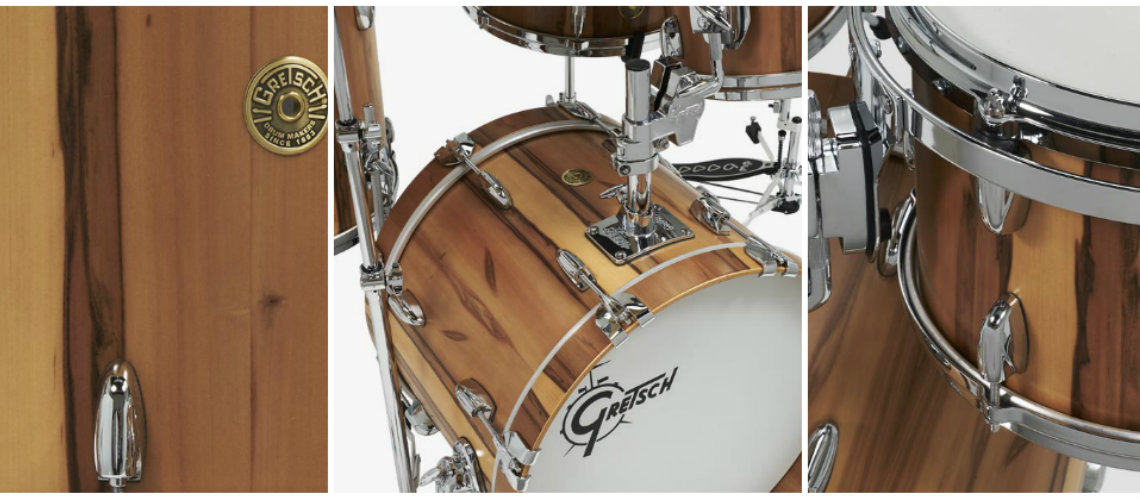 NAMM 2019: Gretsch, USA Custom Exotic Red Gum
