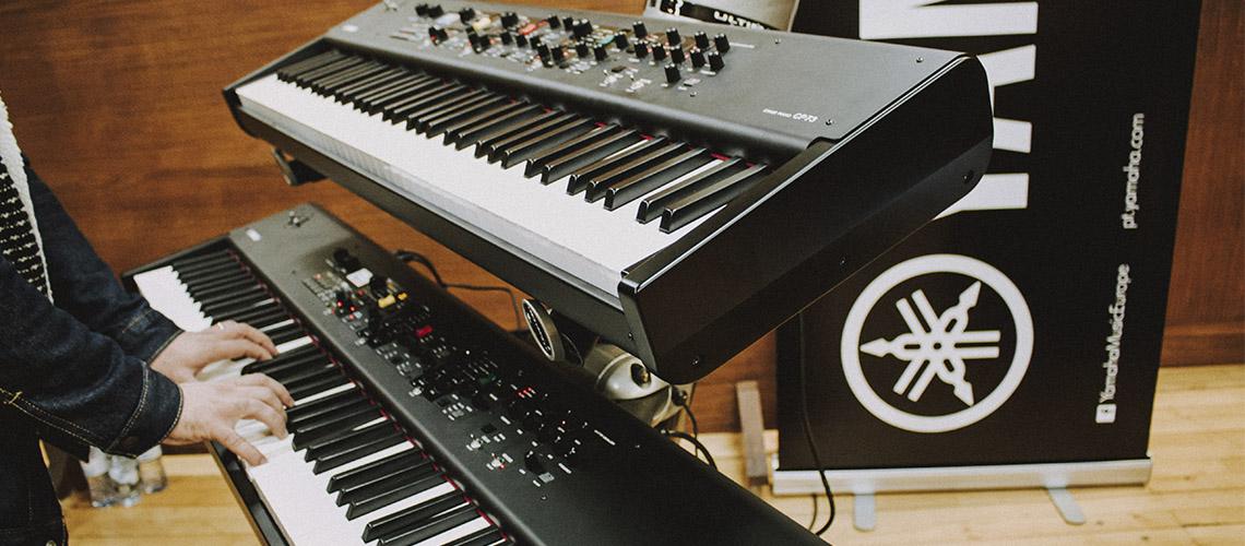 Yamaha, Novos Pianos CP no Namouche
