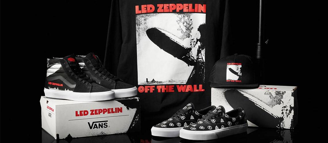 Led Zeppelin anunciam colaboração limitada com a Vans