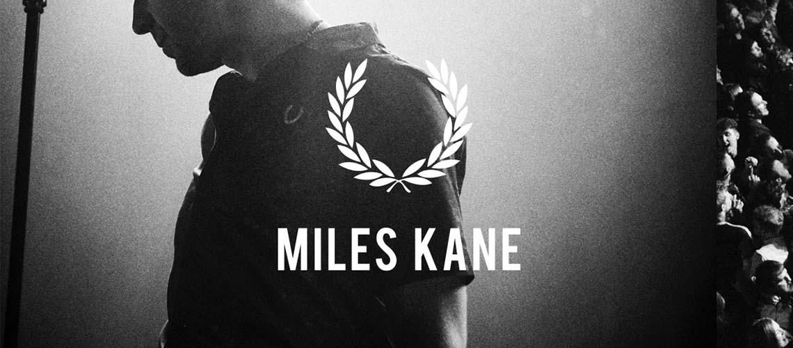 Miles Kane colabora com a Fred Perry em nova colecção de roupa