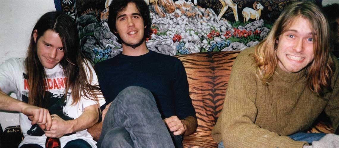 Máquina do Tempo: Vê um ensaio dos Nirvana nos anos 80 em casa de Krist Novoselic