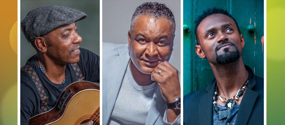 Vozes de Cabo Verde com Tito Paris, Grace Évora e Miroca Paris